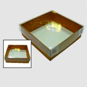 Caja 4 Bombones con Doblez Tapa Mica