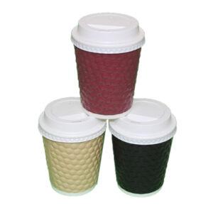 Vaso para café Burbuja  Con Tapa