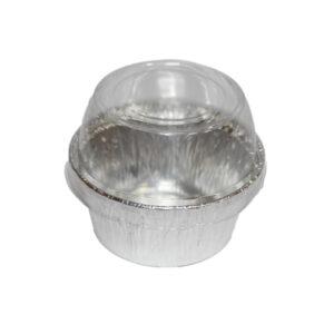 Aluminio de 4 Oz con Tapa plástica