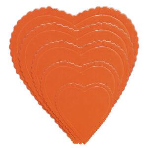 Base de cartón Corazón Rojo